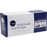 Картридж NetProduct (N-№728/328) для Canon MF-4410/4430/4450/4570/4580, 2,1K