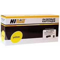 Тонер-картридж Hi-Black (HB-CLT-Y407S) для Samsung CLP-320/320n/325/CLX-3185, Y, 1K