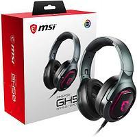 Гарнитура MSI Immerse GH50 GAMING 7.1 Sound, USB 2.0, 2.2м с позолоченным коннектом, RGB Mystic Ligh