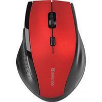 Беспроводная мышь Defender Accura MM-365 красный,6 кнопок,800-1600 dpi