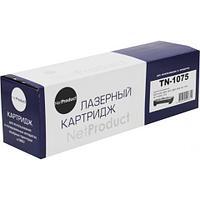 Тонер-картридж NetProduct (N-TN-1075) для Brother HL-1010R/1112R/DCP-1510R/MFC-1810R, 1K
