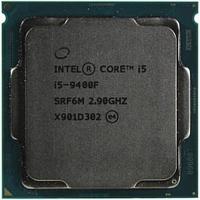 CPU Intel Core i5 9400F 2,9GHz (4,1GHz) 9Mb 6/6 Core Coffe Lake 65W FCLGA1151 Tray