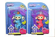 Помятая упаковка!!! Fingerlings интерактивная обезьяна (под оригинал, требует замены батареек) 15*22, фото 3