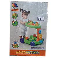 Интерактивный ходунок - каталка с игрушками, Полесье., фото 1