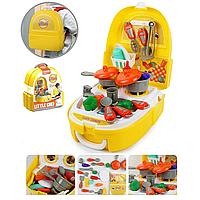 Игровой набор Кухня в пластиковом рюкзаке 7F705