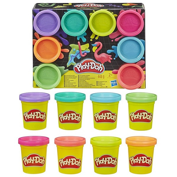 Пластилин Play-Doh Плей-До Набор 8 цветов Hasbro - фото 1