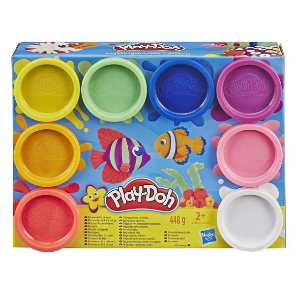Пластилин Play-Doh Плей-До Набор 8 цветов Hasbro - фото 3