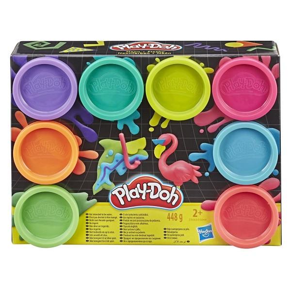 Пластилин Play-Doh Плей-До Набор 8 цветов Hasbro - фото 4