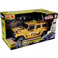 Игрушка военный джип-гараж, машинка