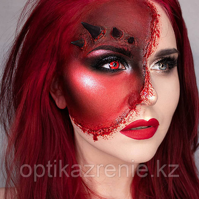 Карнавальные линзы Magic eye модель Volturi