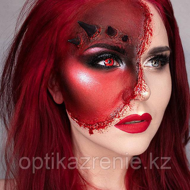 Карнавальные линзы Magic eye модель Volturi - фото 1