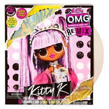 Игровой набор с куклой L.O.L. SURPRISE! серии O.M.G. Remix Королева Китти