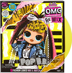 Кукла LOL OMG Surprise Remix Pop BB с музыкой, 25 сюрпризов