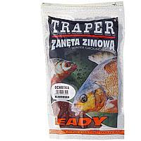 Прикормка Ready Bloodworm готовая увлажненная, зимняя (мотыль) 750г Traper (00133) tr-77135