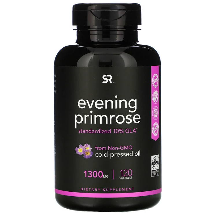 Sports Research, Evening Primrose, 1,300 mg, 120 Softgels