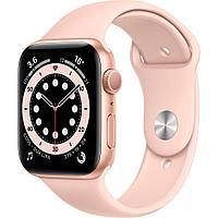 Смарт-часы Apple Watch Series 6 44mm Space Gray, Gold, Silver Серебристый, Черный, Золото золото