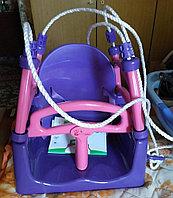 Kачели детские пластиковые 3 в 1 Долони (Doloni)