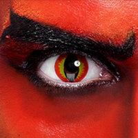 Карнавальные линзы 1 Day модель Devil