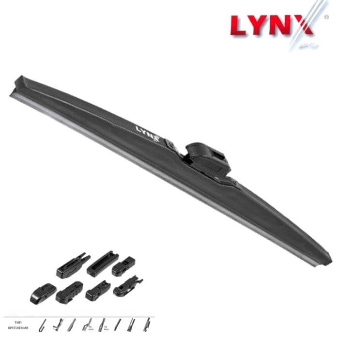 Зимняя щетка стеклоочистителя LYNX 380мм, 15