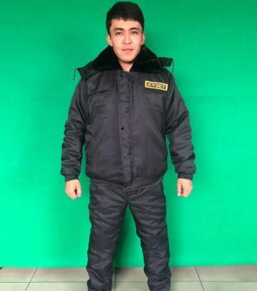 Костюм охранника зимний КУЗЕТ УКОРОЧЕННАЯ в Алматы