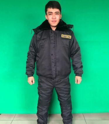 Костюм охранника зимний КУЗЕТ УКОРОЧЕННАЯ в Алматы, фото 2