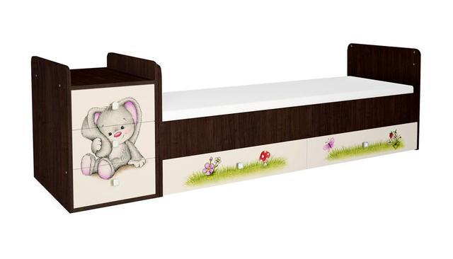 Кроватка трансформер Фея 1100 Зайчонок