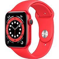Смарт-часы Apple Watch Series 6 44mm Red Aluminium Case with Sport Band M00M3GK красный
