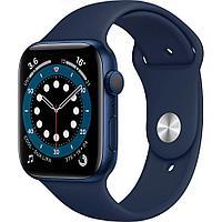 Смарт-часы Apple Watch Series 6 44mm Blue Aluminium Case with Sport Band M00J3GK синий