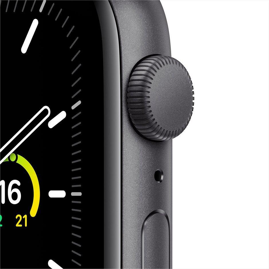 Смарт-часы Apple Watch SE 44mm Gold, Silver, Black Sport Band Черный, Серебристый, золотой - фото 6