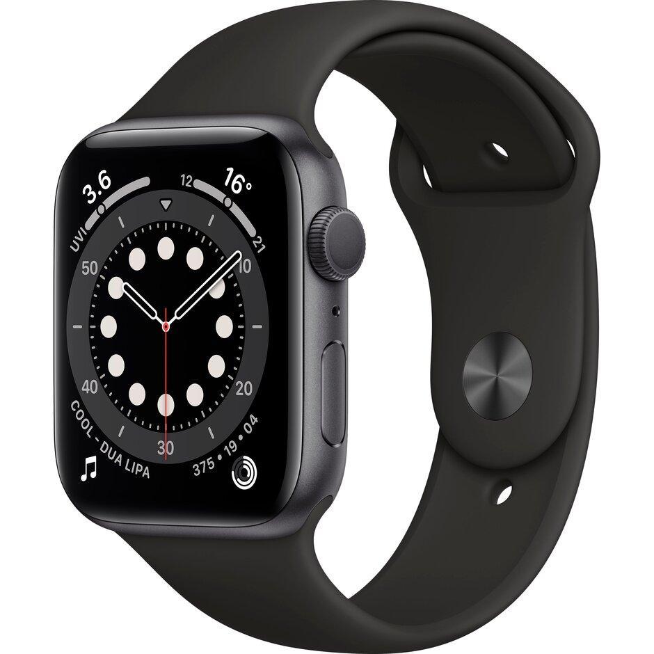 Смарт-часы Apple Watch Series 6 40mm Space Gray, Gold, Silver черный, розовый, серебристый, белый - фото 1