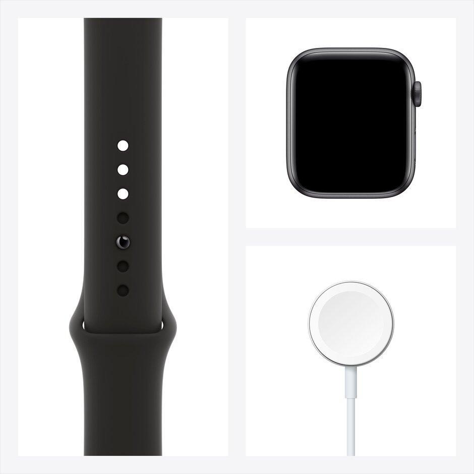 Смарт-часы Apple Watch Series 6 40mm Space Gray, Gold, Silver черный, розовый, серебристый, белый - фото 3