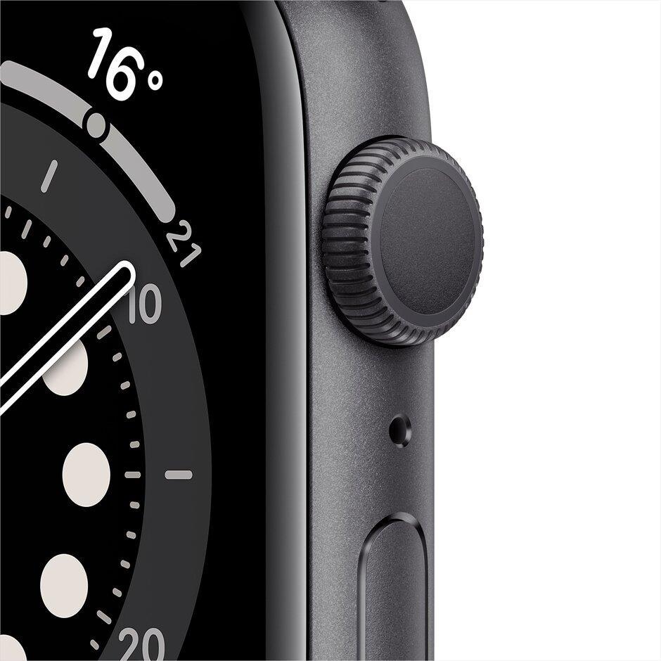 Смарт-часы Apple Watch Series 6 40mm Space Gray, Gold, Silver черный, розовый, серебристый, белый - фото 4