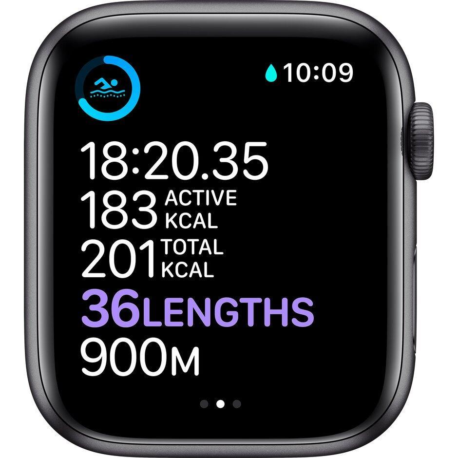 Смарт-часы Apple Watch Series 6 40mm Space Gray, Gold, Silver черный, розовый, серебристый, белый - фото 5