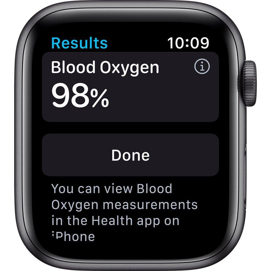 Смарт-часы Apple Watch Series 6 40mm Space Gray, Gold, Silver черный, розовый, серебристый, белый - фото 6