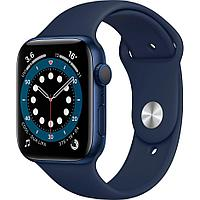Смарт-часы Apple Watch Series 6 40mm Blue Aluminium Case with Sport Band MG143 синий