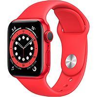 Смарт-часы Apple Watch Series 6 40mm Red Aluminium Case with Sport Band красный