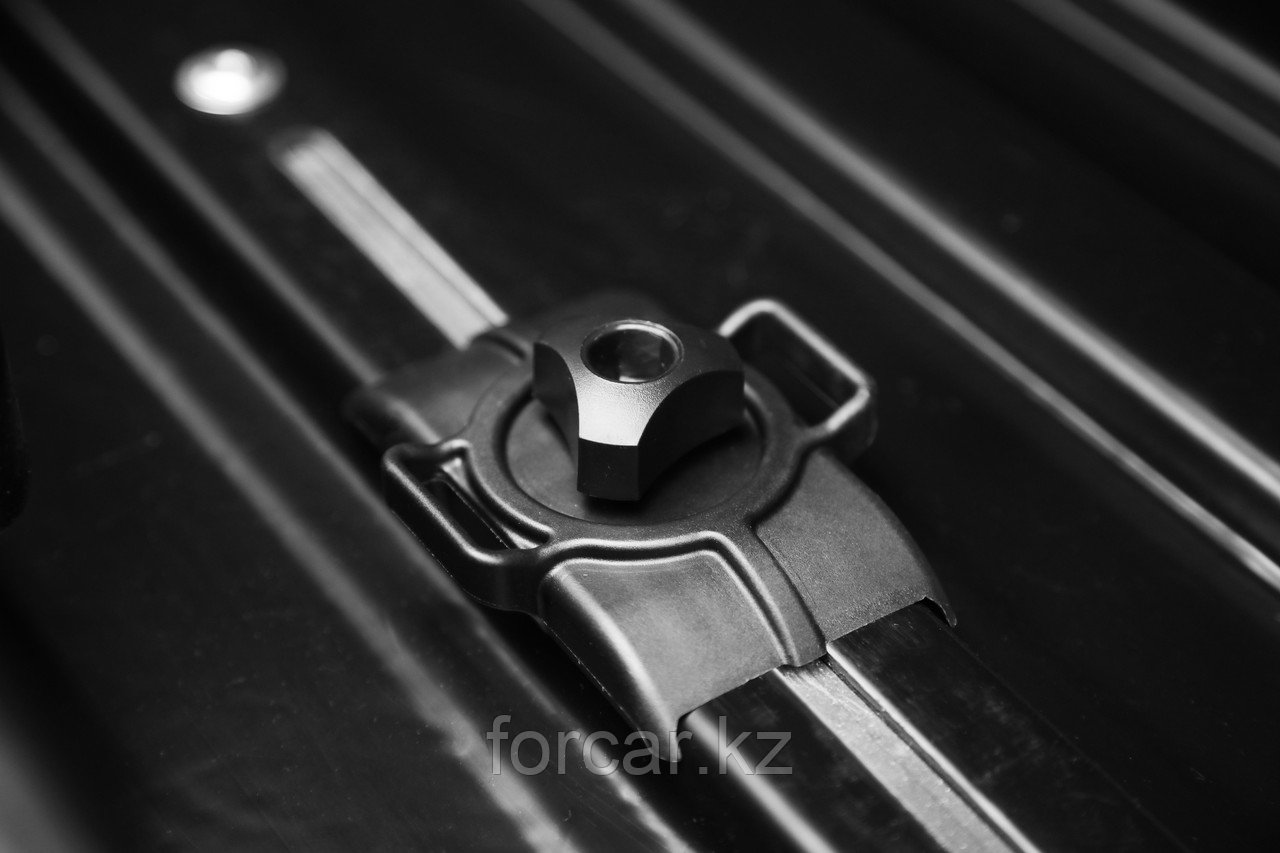 Бокс LUX TAVR 175 серый глянцевый 450L (1750х850х400) с двусторонним открыванием - фото 5