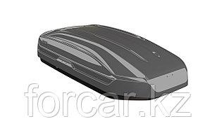 Бокс LUX TAVR 175 серый глянцевый 450L (1750х850х400) с двусторонним открыванием