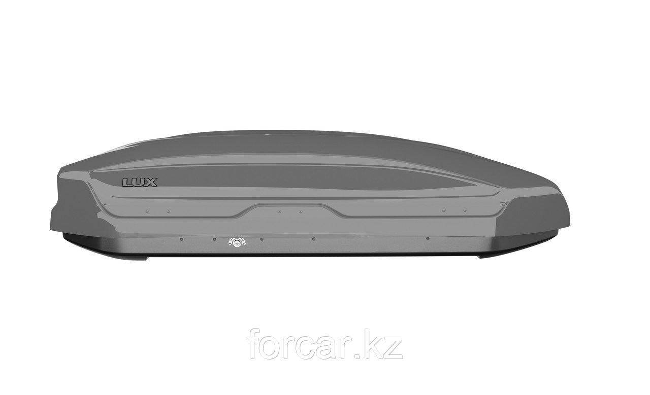 Бокс LUX TAVR 175 серый глянцевый 450L (1750х850х400) с двусторонним открыванием - фото 4