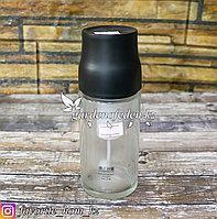 Флакон-спрей для распыления масла. Материал: Стекло/Пластик. Цвет: Прозрачный/Черный.