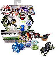 Бакуганы стартовый набор Bakugan Fused Trox и Nobilious Ultra, Armored Alliance, фото 1