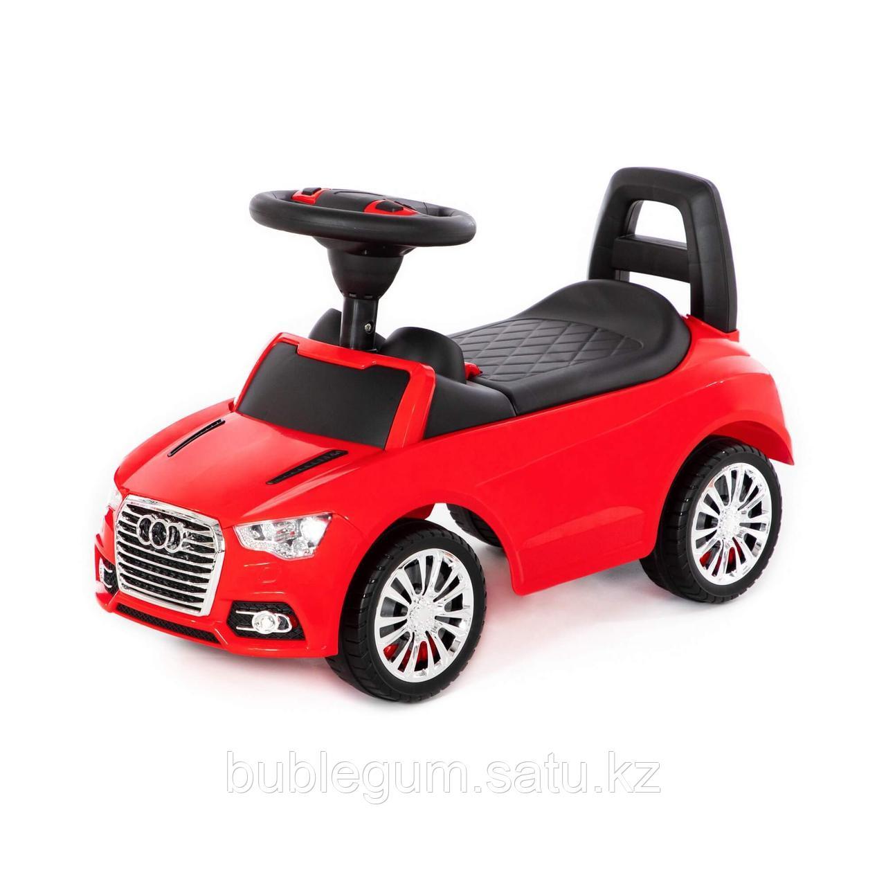 """Каталка-автомобиль """"SuperCar"""" №2 со звуковым сигналом (красная)"""