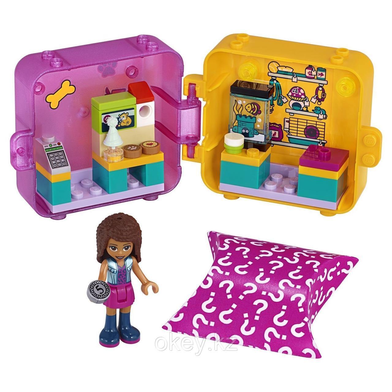 LEGO Friends: Игровая шкатулка Покупки Андреа 41405 - фото 2
