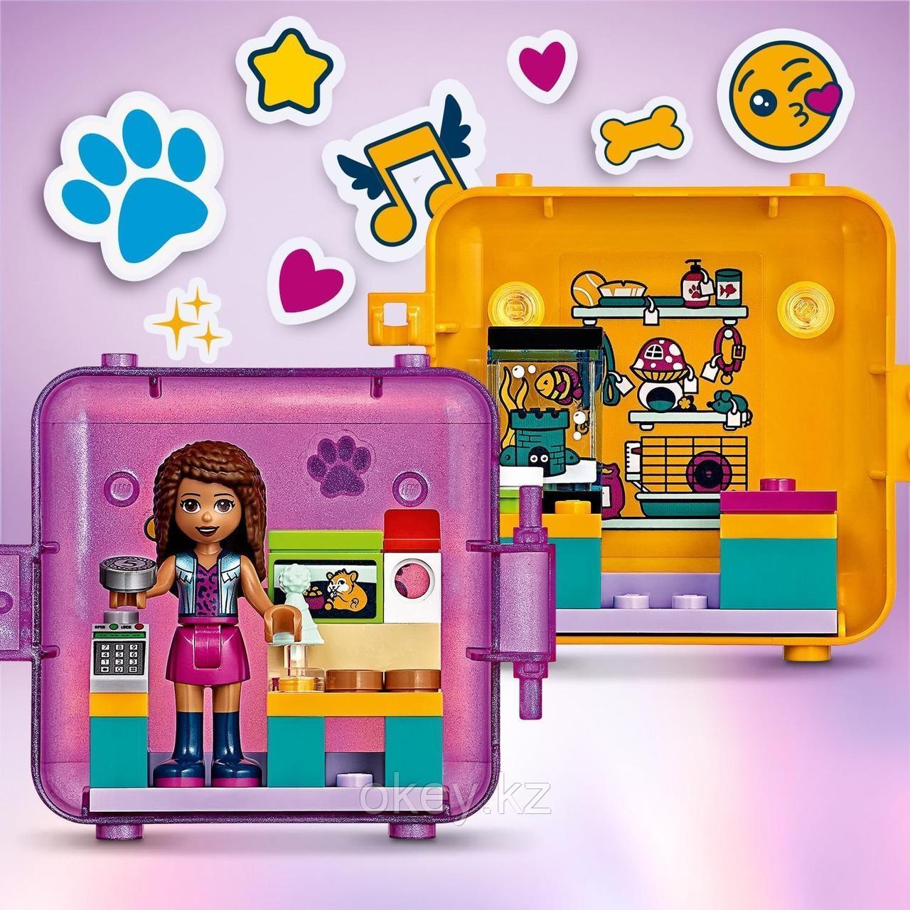 LEGO Friends: Игровая шкатулка Покупки Андреа 41405 - фото 4
