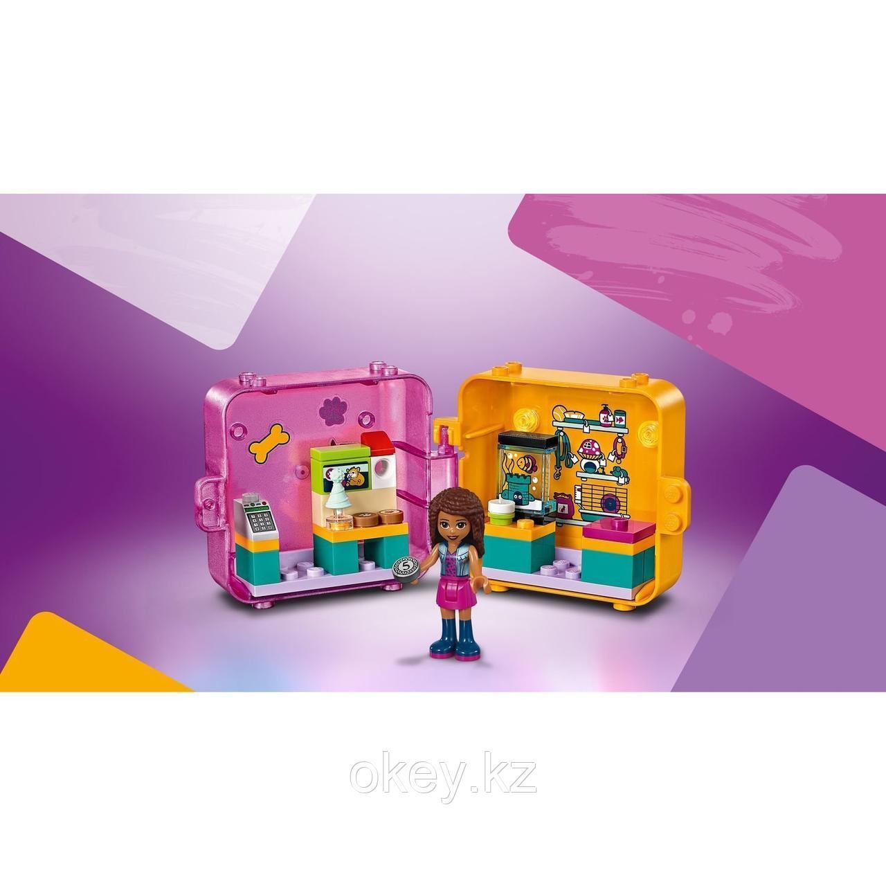 LEGO Friends: Игровая шкатулка Покупки Андреа 41405 - фото 9