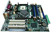 Материнская плата HP 323091-001 D530 i865G s478 HT 4DualDDR400 2SATA U100 AGP8x 3PCI SVGA ADI-6ch LAN1000 mATX