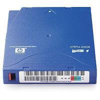 Картридж HP C7971A Ultrium LTO1 200GB bar code labeled Cartridge