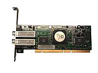 Контроллер QLogic QLA2342-CK 2Gb DP FC HBA, 133MHZ PCI-X, LC multi-mode optic