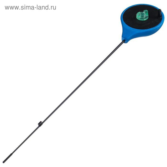Удочка зимняя Helios RBUZ, хлыст стеклопластик, цвет синий - фото 2