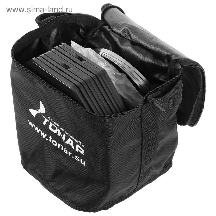 Набор жерлиц в сумке «Тонар» ЖЗО-05 d=210 мм, катушка d=63 мм, набор 10 шт. - фото 4